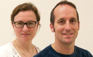 Valerie Huiskes en Christian Wicke